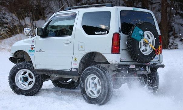 雪国で使用されていない車体を購入する