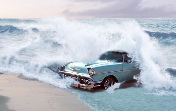車は水没するとどうなるのか?